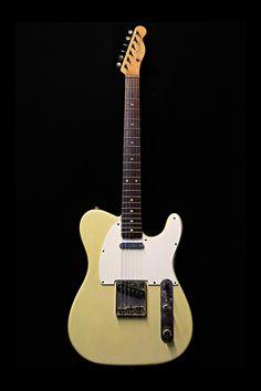 1963 Fender Telecaster L Series - See through White