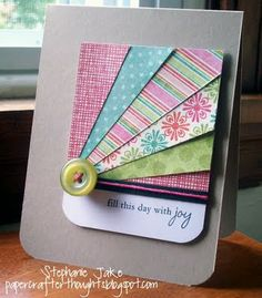Papercrafterthoughts: Throw Out Your Scraps!!