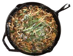Alton Brown's Green Bean Casserole: My best-ever green bean casserole. I promise it's worth the effort. Use panko bread crumbs and you'll see a difference. (bread crumbs uses) Vegetable Dishes, Vegetable Recipes, Food Network Recipes, Cooking Recipes, Soup Recipes, Brown Recipe, Greenbean Casserole Recipe, Panko Bread Crumbs, Alton Brown