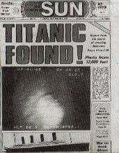 Titanic found Real Titanic, Titanic Sinking, Titanic History, Titanic Ship, Titanic Photos, Liverpool, Titanic Artifacts, Titanic Survivors, Ocean Cruise