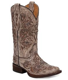 Corral Penelope Cowboy Boot: just added these to my book collection, they are so pretty