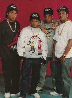 NWA. 80's rap (one of my favs).. I so was in luv with Ice Cube!! Lol..(even still today). Lol