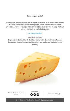 Como surgiu o queijo?