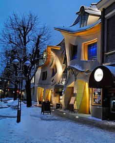 Krzywy Domek, Poland's Crooked House