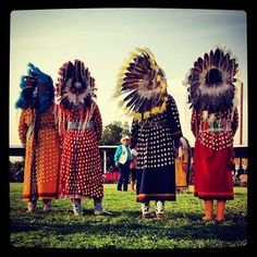 Respect. War Bonnet Dance, Crow Fair. Photo by Sings In The Timber.
