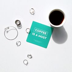 < coffee is a must >