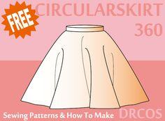 Circularskirt2 sewing patterns & how to make