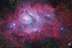 The eighth object of Messier's catalogue is usually associated with the Lagoon Nebula, however it is not completely correct.