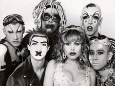 The Club Kids were a group of young clubheads led by Michael Alig and James St. James in the late and early group was famous for their outrageous costumes and extensive drug use … Michael Alig, Amanda Lepore, Blitz Kids, New Romantics, Punk, Monster Party, Party Monsters, Club Kids, Club Style