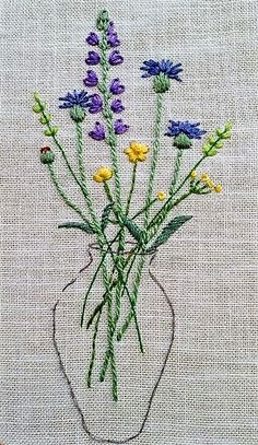 Simple embroidery