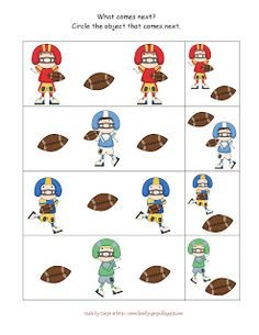 1000 images about teacher sports theme on pinterest for Football crafts for preschoolers