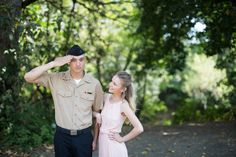 Military Engagement session. Engagement. Engagement poses. Basically Brandy Photography