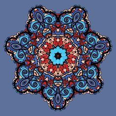 mexican art patterns look like mandalas - Google Search
