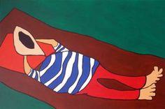 """Saatchi Art Artist Alvaro Raposo; Painting, """"A Sesta"""" #art"""