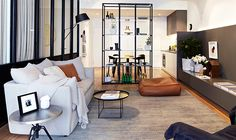 George and Allen Display Apartment by Hecker Guthrie, featuring furniture by Jardan #newjardanweb