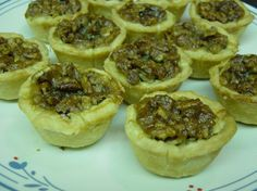 Maple walnut butter tarts