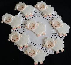 Lamb Baby Shower, Lamb Cake Topper, Little Lamb Baby Shower, Lamb Favor, Baby Lamb Cake Topper, Baptism Lamb Favor, Little Lamb Baby Shower by PartyFavorsMiami on Etsy