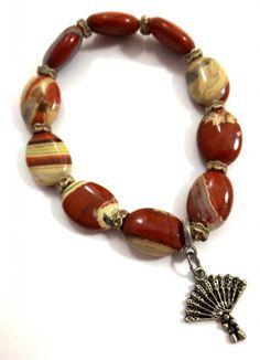 Buy Me on URCRafti.com! Earth Tone Bracelet- Jasper Bracelet by Linda Dunn At least Pin Me so everyone can see!