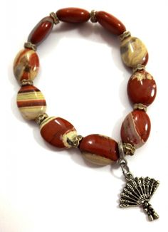 Buy Me on URCRafti.com! Earth Tone Bracelet- Jasper Bracelet by Linda Dunn At least Pin Me so everyone can see!