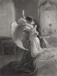 "Mihaly von Zichy (1827-1906), ""Romantic Encounter"" 