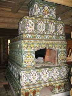 Русская печь -russian pechi( stove).whole life of the russian person to pass beside-here- give birth child in stove,here prepare meal,here wash itself and here die on stove