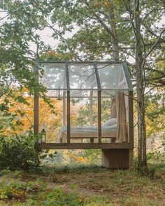 The 72 Hour Cabin - Ultimate Nature Retreat in West Sweden - I, Wanderlista Glass Cabin, Glass House, Forest Cabin, Forest House, Tiny Cabins, Tiny House Cabin, Backyard House, Garden Design, House Design