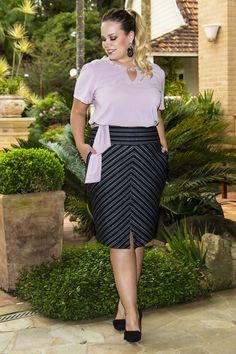 Women's Plus Size Seamed Denim Mini Skirt - Wild Fable™ Black Plus Size Maxi, Plus Size Skirts, Moda Plus Size, Plus Size Outfits, Big Girl Fashion, Curvy Fashion, Plus Size Fashion, Long Pencil Skirt, Pencil Skirt Outfits