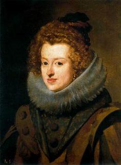 Doña Maria de Austria, reina de Hungía - Velázquez