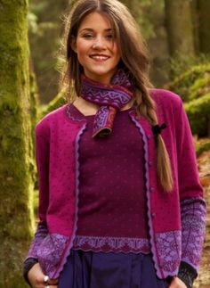 Nordic knitting design