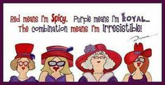 Diane Koskela uploaded this image to 'Fan of Red Hat Ladies'. See the album on Photobucket. Red Hat Club, Red Brolly, Wood Craft Patterns, Red Hat Ladies, Red Hat Society, Pink Hat, Red Hats, Girl With Hat, Friendship