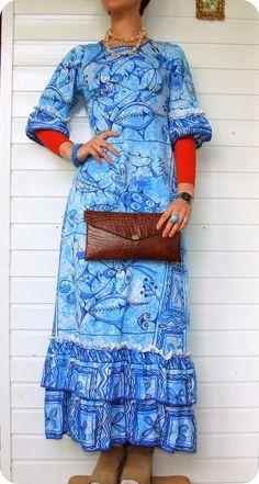 VINTAGE BOHO Kroko Tasche Clutch Croco Bag Purse Braun Ethno Boho 60er 70er  in Kleidung & Accessoires, Damentaschen   eBay!