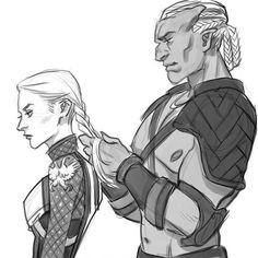 Sten and the Warden // This is ridiculously cute