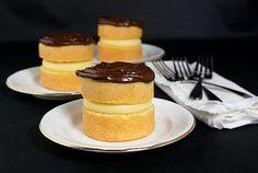 Miniature Boston Cream Pies