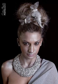 Model - Loredana Homitchi Make-up & hair - Alice Aslan Accesorii - Stefania Caragea Foto - Cristian Negoiţă - www. Salons, Alice, Hair Styles, Model, Dresses, Fashion, Vestidos, Moda, Lounges