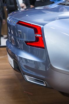 """This is how Volvos will taste from now on."" – Thomas Ingenlath, Head of Design, Volvo Car Group"