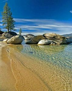 Kings Beach in Lake Tahoe the most beautiful place 21 years I have spent summers with my Kids in our Cabin can't wait for the next 21