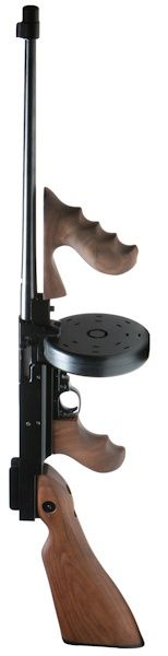 Thompson Submachine Gun Conversion Kit for Ruger 10/22 01.