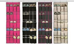 Groupon - 20-Pocket Over-the-Door Shoe Organizer. Multiple Styles Available. Free Returns. in Online Deal. Groupon deal price: $11.99