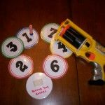 I'd use this as a number scavenger hunt, find a certain number of an item as number practice