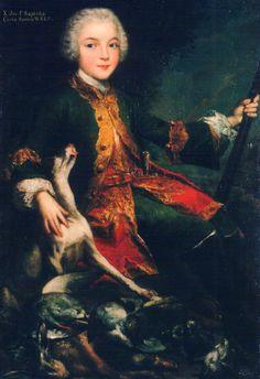 Augustyn Mirys (?), portret Józefa Sapiehy, ok. 1740