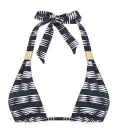 HEIDI KLEIN Carolina Adjustable Halterneck Bikini Top. #heidiklein #cloth #