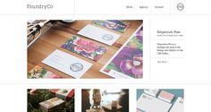 Foundry Collective   Clean responsive website.