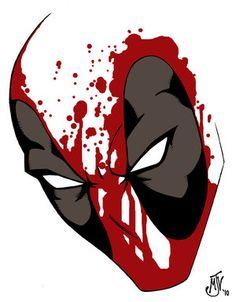 Deadpool art- Inspiration for cover ideas