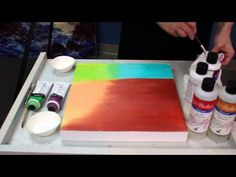 Blending Atelier Interactive - YouTube n this how-to painting video, artists can learn blending and glazing tips and the differences between mediums such as Atelier Clear Painting Medium, Acrylic Glazing Liquid, Slow Medium and Thick Slow Mediums. Learn how to blend and work wet-in-wet using Atelier Interactive Acrylics, a water sprayer and the Unlocking Formula. http://www.youtube.com/watch?v=J-078X0yMLE&feature=share&list=FL70CK69kteooRCsmIKoyJIg