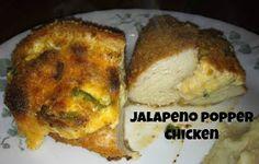 Sugar for Breakfast: Jalapeno Popper Chicken