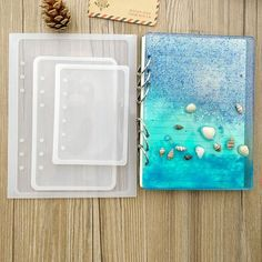 Silicone Mold Notebook cover Resin Mold Molds Silicone Moulds Epoxy Diy Pendant Jewelry Making Craft Moulds jewelry diy supplies – Resin Crafts – New Epoxy Diy Resin Art, Epoxy Resin Art, Diy Epoxy, Diy Resin Crafts, Diy Silicone Molds, Resin Molds, Diy Resin Mold, Diy Projects To Make And Sell, Crafts To Make