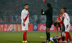 ¿Se queda sin revancha? Polémico defensa peruano no jugaría contra Chile. Octubre 06, 2015.
