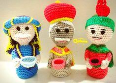 """""""Natale in Anticipo"""" part 2 ...I Magi sono arrivati!  #presepe #nativita #nativity #remagi #magi #crochet #amigurumi #amigurumidoll #amigurumiaddict #crocheting #crochetaddict #craft #uncinetto #uncinettomania #handmade #fattoamano #artigianatocreativo #creazioni #creativity #creativemamy #artisanland #handformade #artesanatonew #alittlemarketitalia #instalike #instadaily #instalove #picoftheday #instamood by la_fabbrica_di_cotone"""