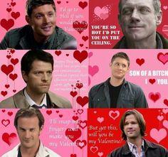 Supernatural Valentines