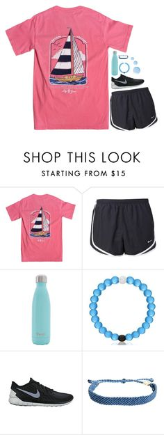 """""""RTD!!"""" by wintema ❤ liked on Polyvore featuring NIKE, S'well, Everest, Pura Vida and Topshop"""